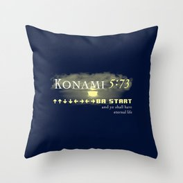 The Old School Testament Throw Pillow