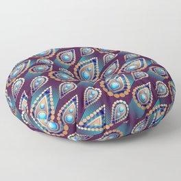 Turkish Blue Floor Pillow