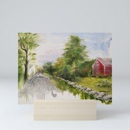 Stillness Mini Art Print