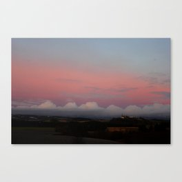 The wiew Canvas Print