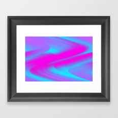 DREAM PATH (Blues, Purples & Fuchsias) Framed Art Print
