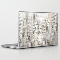 sleep Laptop & iPad Skins featuring Sleep by GLR67