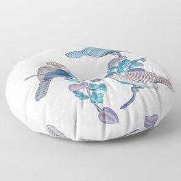 Future Birds Floor Pillow