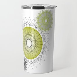 Modern Spiro Art #5 Travel Mug