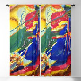 Wassily Kandinsky Painting with Three Spots Blackout Curtain