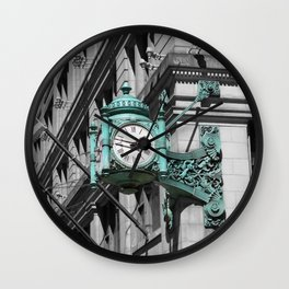 Chicago Marshall Field's Clock Photo Wall Clock