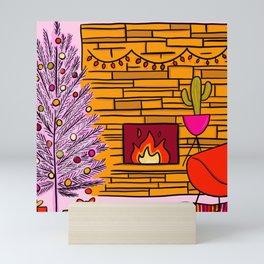 Modern Christmas Mini Art Print