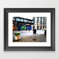 SNOW   02 Framed Art Print