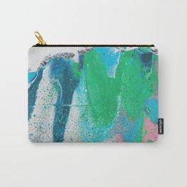 pastel fluid art Carry-All Pouch