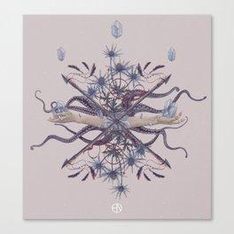 Ghosts of Scandinavia. Norwegian bouquet Canvas Print