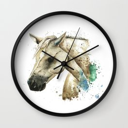 Palomino Horse - Sundance Wall Clock