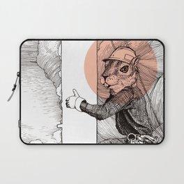 Utility Pole Squirrel Laptop Sleeve