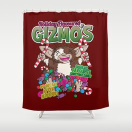 Holiday flavoured Gizmo´s Shower Curtain