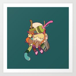 itsy bitsy cooties #23 Art Print