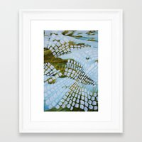 john snow Framed Art Prints featuring Snow by John Turck