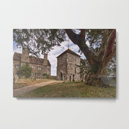 St Mary Sullington Metal Print