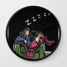 All In A Day's Work Wall Clock