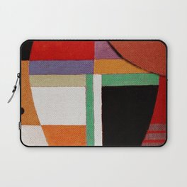 Женщина, яблоко, со змеем (Woman, an apple and the serpent) Laptop Sleeve