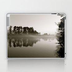 Misty Lake B&W Laptop & iPad Skin