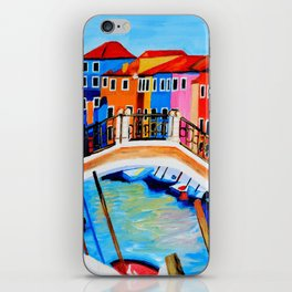 Colors of Venice Italy iPhone Skin