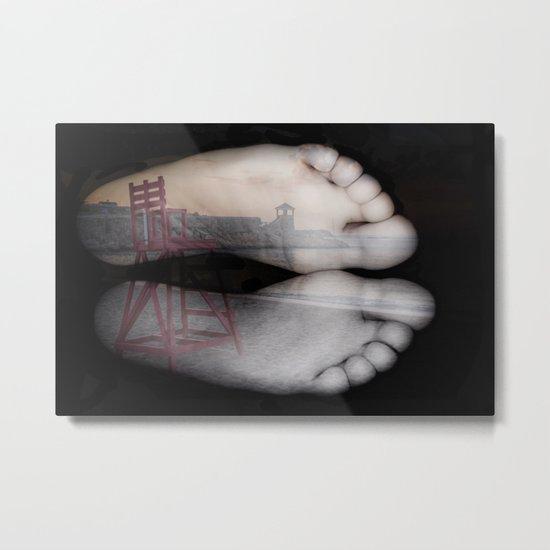 Beach Feet #2 Metal Print