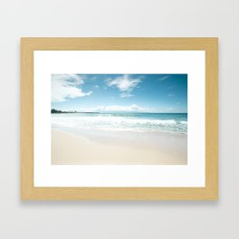 Kapalua Blue Framed Art Print
