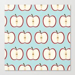 Apple party Canvas Print