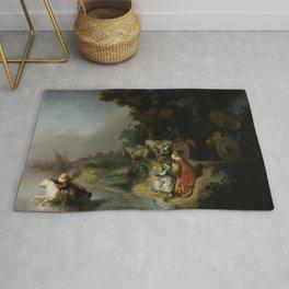 The Abduction of Europa - Rembrandt van Rijn Rug