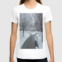 pittsburgh T-shirts featuring PITTSBURGH PARK by Stephanie Bosworth
