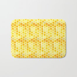 Watercolour Honeycomb Bath Mat