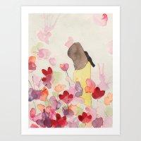 Merula Art Print
