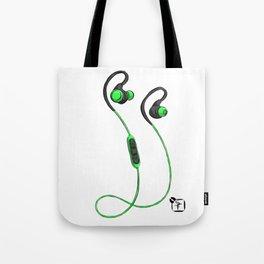 Ear Buds Tote Bag