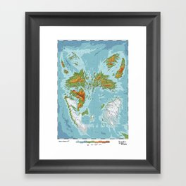 Vulpini - Land of the Fox Framed Art Print