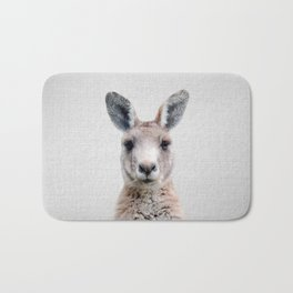 Kangaroo - Colorful Bath Mat