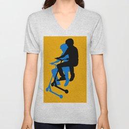 Landing Gears - Stunt Scooter Rider Unisex V-Neck