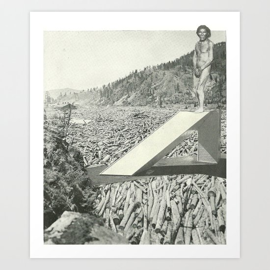 Quantum Reap Art Print