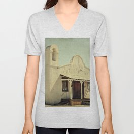 The Sanctuary Adventist Church a.k.a The Kill Bill Church Unisex V-Neck