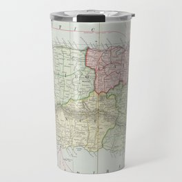 Vintage Map of Puerto Rico (1901) Travel Mug