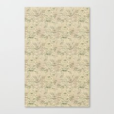 Siskiyou Trees Knit Canvas Print