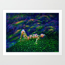 Mera The Forest Nymph Art Print