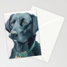 Black Lab Stationery Cards