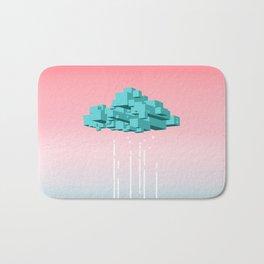Concrete Cloud Bath Mat