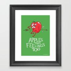 Apple Shot Framed Art Print