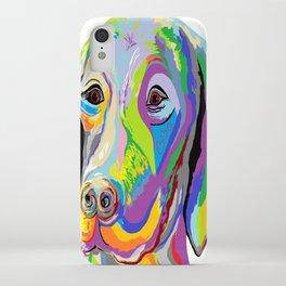 Weimaraner iPhone Case