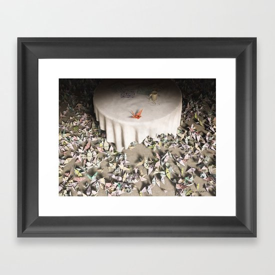 The Perfectionist Framed Art Print