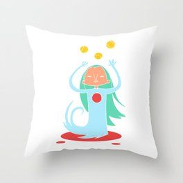 Super Hero 6 Throw Pillow