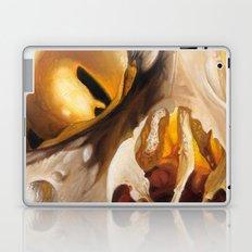 close up skull 2 Laptop & iPad Skin