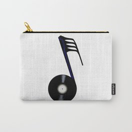 Isolated Record Note Carry-All Pouch