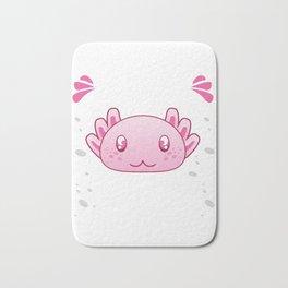 Axolotl Always Be Yourself print Funny Underwater Gift Bath Mat