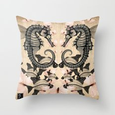 Flying fantasies Throw Pillow
